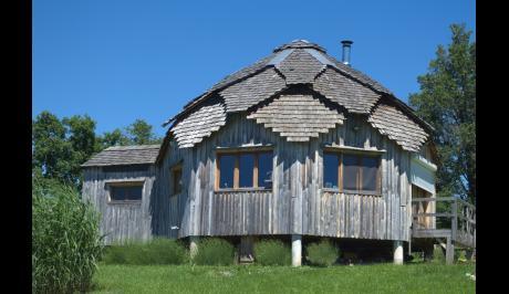 La maison terminée